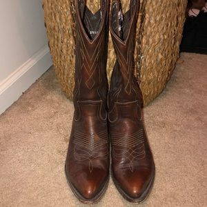 Authentic Frye cowboy boots